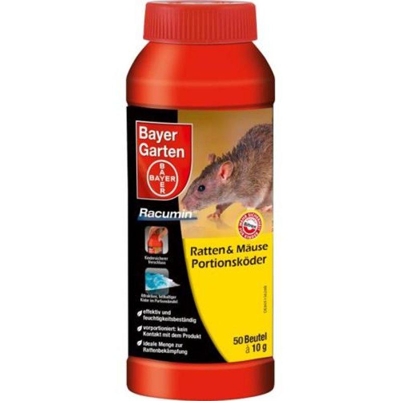 bayer garten racumin ratten m use portionsk der 500g. Black Bedroom Furniture Sets. Home Design Ideas