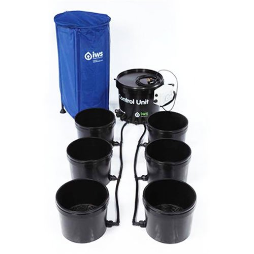 IWS Flood and Drain Basic System 48 Pot inkl. Flextank 400l