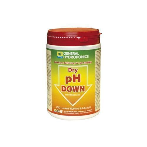 GHE pH Down Pulver in 0,025kg, 0,25kg, 0,5kg oder 1kg