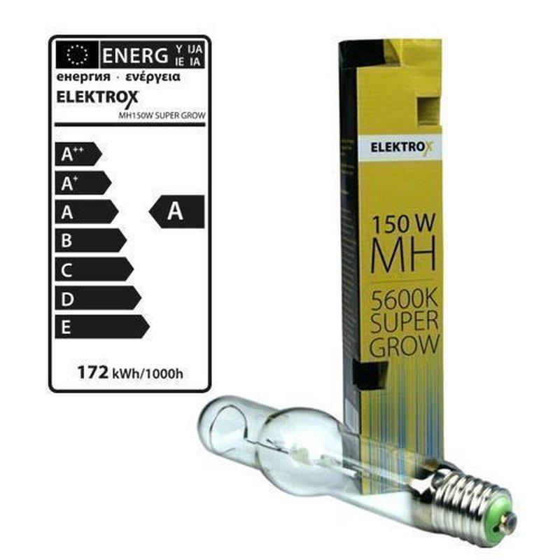 600W Elektrox SUPER GROW MH Wuchsleuchtmittel Grow Metallhalogenlampe