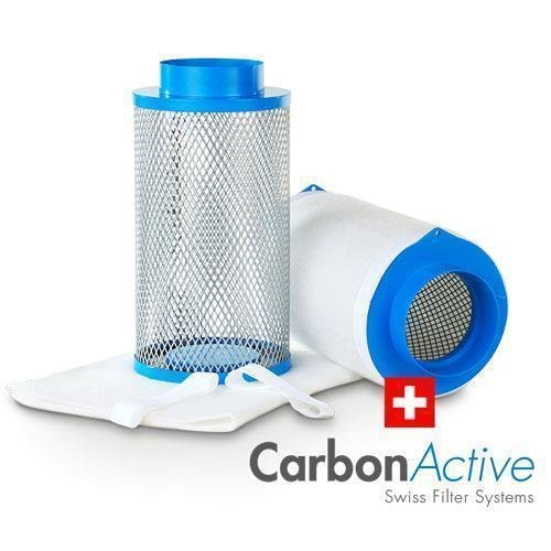Carbon Active Intake Pollen Filter 125mm