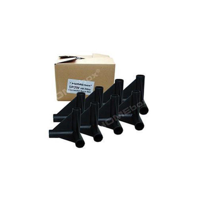 8Stk./Packung, 3-Wege Verbinder, 22mm günstig kaufen.